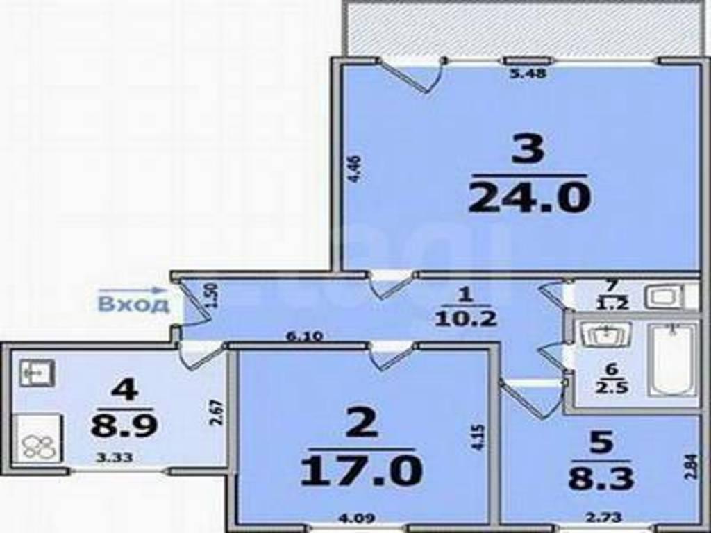 Недвижимость харьков :: планировки квартир харьков. трех ком.